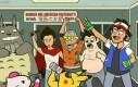 Bohaterowie kreskówek w wersji studenckiej