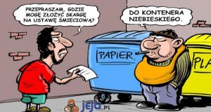 Skarga na ustawę śmieciową