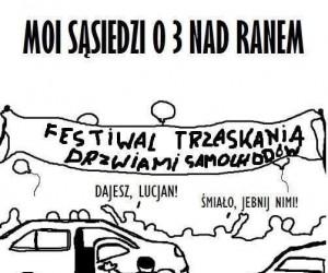 Festiwal trzaskania drzwiami