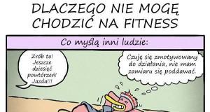 Dlaczego nie mogę chodzić na fitness
