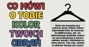 Co mówi o Tobie kolor Twoich ubrań