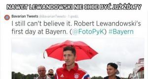 Nawet Lewandowski nie chce być już żółty