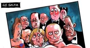 Samojebka z G8
