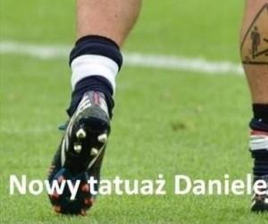 Nowy tatuaż Daniele De Rossi
