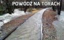 Powódź na torach
