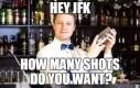 JFK w barze
