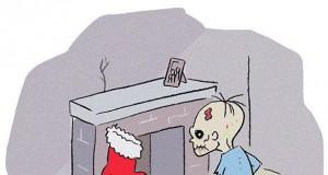 Zombie też czekają na prezenty