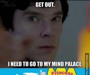 """Sherlock i jego """"pałac"""""""