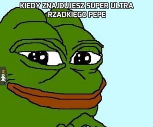 Kiedy znajdujesz super ultra rzadkiego Pepe