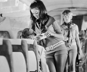 Stewardessy w latach 60-tych