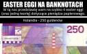 Easter eggi na banknotach