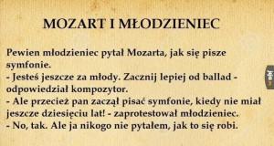 Mozart zaorał