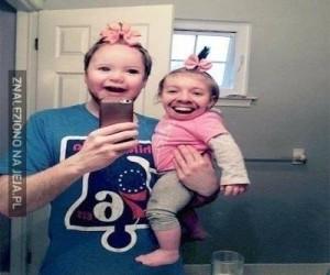 Rodzinna zamiana twarzy