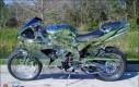 Przezroczysty motocykl