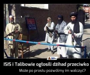 ISIS i Talibowie ogłosili dżihad przeciwko sobie