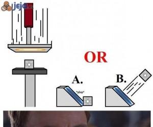 A czy B?