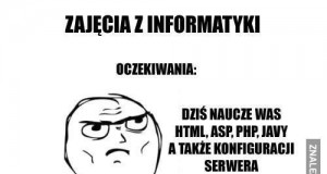 Zajęcia z informatyki...