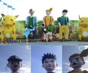 Przerażające postacie z Pokemonów