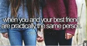 Gdy jesteście praktycznie tą samą osobą
