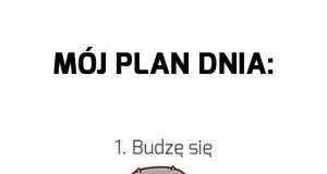 Mój plan dnia