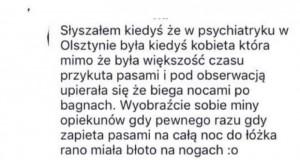 Kobieta z psychiatryka