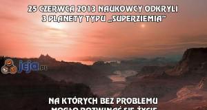3 planety typu Superziemia