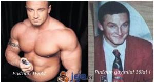Pudzian kiedyś i dziś