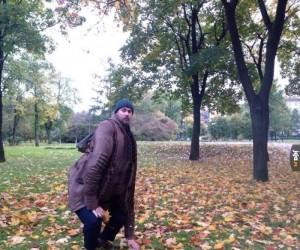 Zbieranie liści