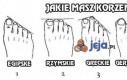 Jaką masz stopę? Jakie masz korzenie?
