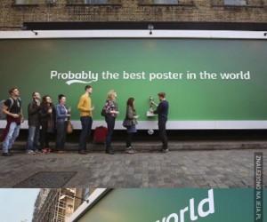 Prawdopodobnie najlepsza reklama