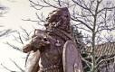Posąg pierwszego króla Norwegii