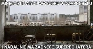 Minęło 30 lat od wybuchu w Czarnobylu
