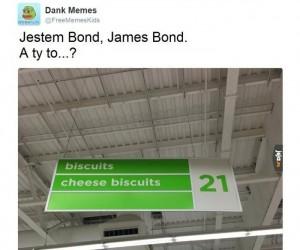 Bond i ciasteczka