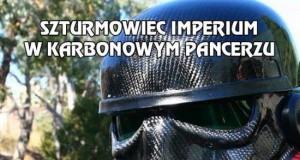 Szturmowiec Imperium w karbonowym pancerzu