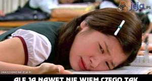 Po ciężkim dniu w szkole