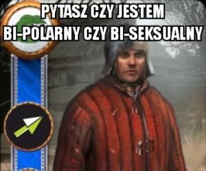 Mem zrozumiały tylko dla graczy Wiedźmina