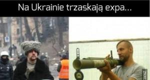 Na Ukrainie trzaskają expa