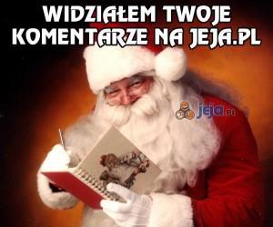 Mikołaj już wie co dostaniesz...