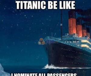 Titanic i Ice Bucket Challange