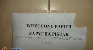 Poezja w toalecie