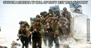 System leczenia w Call of Duty jest realistyczny