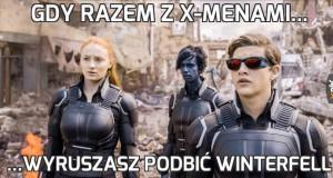 Gdy razem z X-Menami...