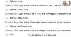 Opowiedz mi historię Cleverbocie