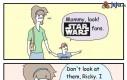 Patrz! Fani Star Wars!