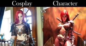 Cosplay vs Postać