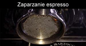Zaparzanie espresso