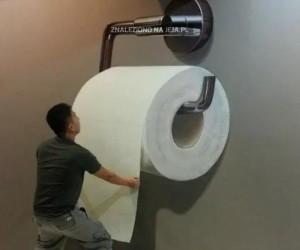 Wielka rolka papieru