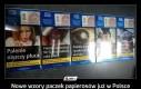 Nowe wzory paczek papierosów już w Polsce