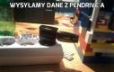 Wysyłamy dane z Pendrive'a