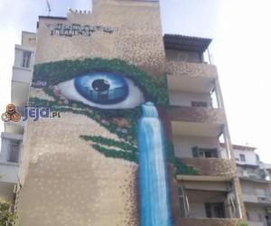Sztuka na budynku
